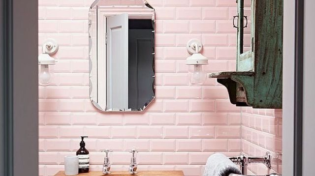 Stunning Salle De Bain Rose Poudre Pictures - House Design ...